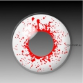 BLOODSHOT DROPS - party hall contact lenses