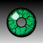 GREEN MONSTER - party hall contact lenses