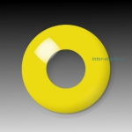 YELLOW - party hall contact lenses