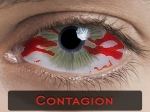 CONTAGION SCLERA 22mm - Crazy & Fun Halloween Kontaktlinsen