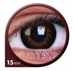 Sweet Honey 15 mm - Farbige Kontaktlinsen Big Eyes