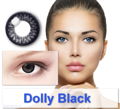 Dolly Black - Coloured contact lenses Big Eyes