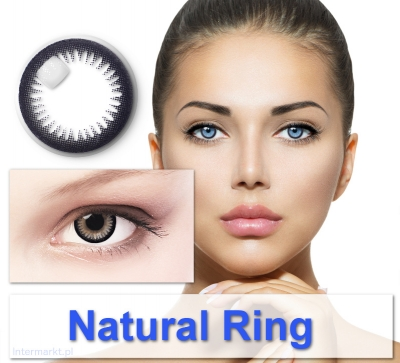 Natural Ring - Farbige Kontaktlinsen Big Eyes