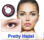 Pretty Hazel - Color contact lenses Big Eyes