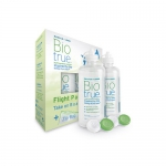 Biotrue Flight Pack  120 ml (2 x 60 ml)+2 x Behälter+1 x Zip-Bag