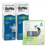 ReNu MultiPlus 2x360 ml + Biotrue Flight Pack 120 ml