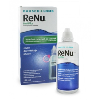 ReNu MultiPlus 120 ml - Multi with container - all in one