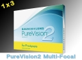 PureVision 2 Multi-Focal for Presbyopia - 1x3 piece - Bausch&Lomb
