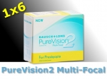 PureVision 2 Multi-Focal for Presbyopia - 1x6 piece - Bausch&Lomb