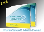 PureVision 2 Multi-Focal for Presbyopia - 2x3 piece - Bausch&Lomb