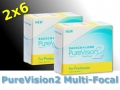 PureVision 2 Multi-Focal for Presbyopia - 2x6 piece - Bausch&Lomb