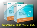 PureVision 2 HD for Astigmatism (Toric) -  Bausch & Lomb - 2 x 6 pieces
