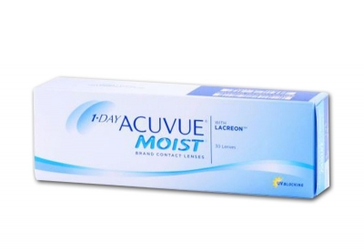 1 Day Acuvue Moist - 2 x 30 pieces