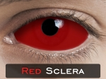RED SCLERA 22mm - Crazy & Fun Halloween Kontaktlinsen