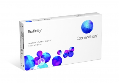 Biofinity - 6 pieces - monthly new generation of contact lenses