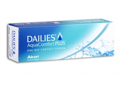 Dailies Aquacomfort Plus - 2 x 30 pieces - daily disposable contact lenses