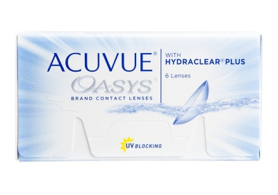 Acuvue OASYS z HYDRACLEAR PLUS BC: 8.8 mm - 6 pieces